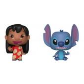 Figurine Vynl - Lilo et Stitch - Twin Pack Lilo et Stitch