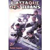 Manga - L'attaque des Titans - Tome 26