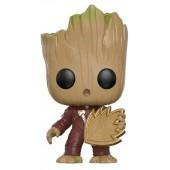 Figurine Toy Pop N°208 - Les Gardiens de la Galaxie 2 - Groot avec Emblème