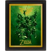 Cadre 3D - Zelda