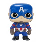 Figurine Toy Pop 125 - Civil War - Captain America