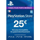 PSN Card 25 Euros PS4 - PS3 - PS Vita