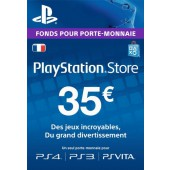 Psn Card 35 Euros Ps4 - Ps3 - Ps Vita