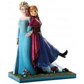 Statuette - La Reine des Neiges - Disney Traditions - Elsa et Anna
