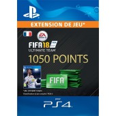 FIFA 18 Ultimate Team 1 050 Pts Ps4