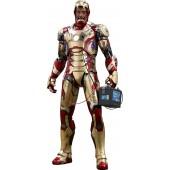 Figurine Hot Toys - Iron Man 3 - Qs Series 1/4 Iron Man Mark Xlii 51 Cm