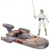 Figurine - Star Wars - Black Series Luke et son Landspeeder (avp Micro)