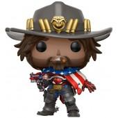 Figurine Toy Pop N° 182  - Overwatch - USA Mccree - Exclusif Micromania - GameStop
