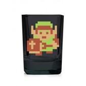 Mini-verres - The Legend of Zelda - Link pixelisé 50 ml