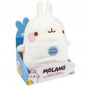 Peluche - Molang - Super douce 27 cm