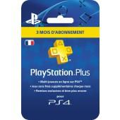 PlayStation Plus pour 3 mois - PS4 - PS3 - PS Vita