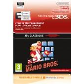 Super Mario Bros (NES) - Version numérique pour 3DS