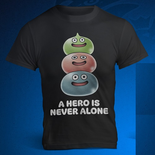T-shirt Dragon Quest Heroes 2 offert