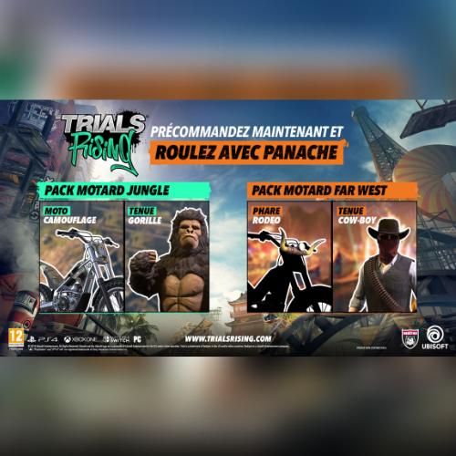 2 Packs Motards en bonus DLC