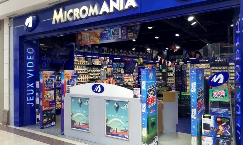 magasin jeux vid o caen centre commercial mondeveille 2 infos et adresse micromania. Black Bedroom Furniture Sets. Home Design Ideas