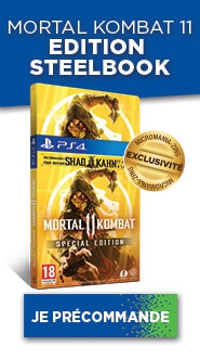 MORTAL KOMBAT 11 EDITION STEELBOOK