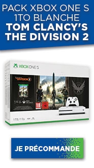XBox One Blanche S 1To The Division