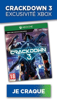 CRACKDOWN 3 SUR XBOX ONE