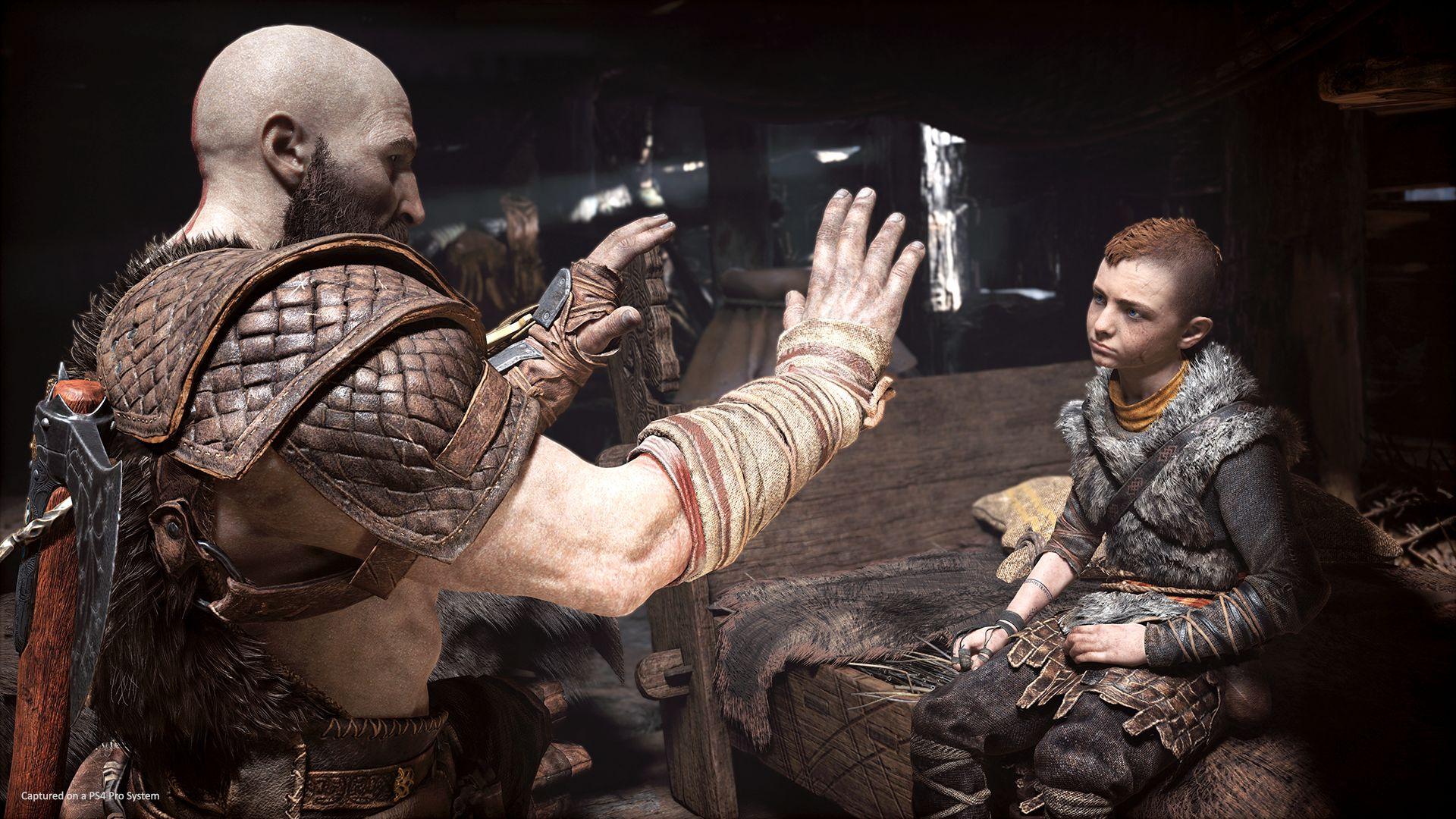 Kratos et son fils, Atreus