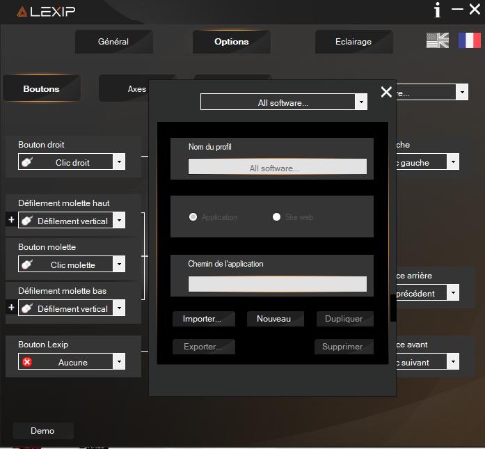 Software Lexip pu94