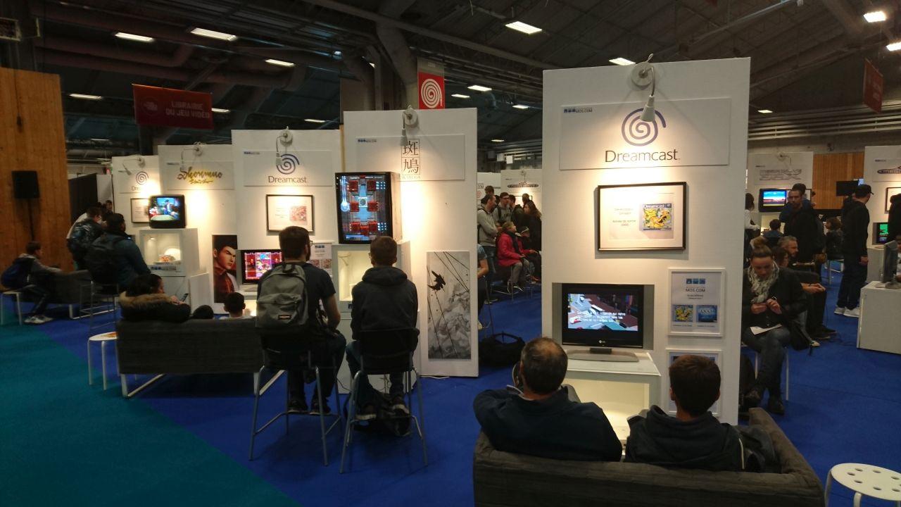 Stand association MO5.com à la Paris Games Week