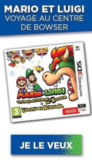 MARIO & LUIGI VOYAGE AU CENTRE DE BOWSER + L'EPOPÉE DE BOWSER JR. 3DS