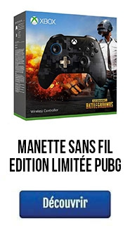 MANETTE SANS FIL EDITION LIMITÉE PLAYERUNKNOWN'S BATTELGROUNDS XBOX ONE