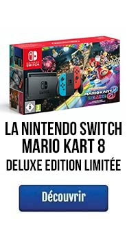 Nintendo Switch avec Mario Kart 8