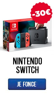 Les Nintendo Switch ont -30€ de réduction !