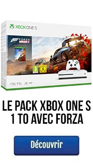 Le pack Xbox One S 1To avec Forza