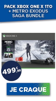 Le pack Xbox One X 1To avec la saga bundle Metro Exodus